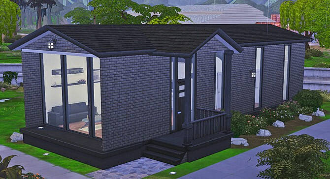 Sims 4 Starter Mobile Home #1 at Geeky Gaming Stuff
