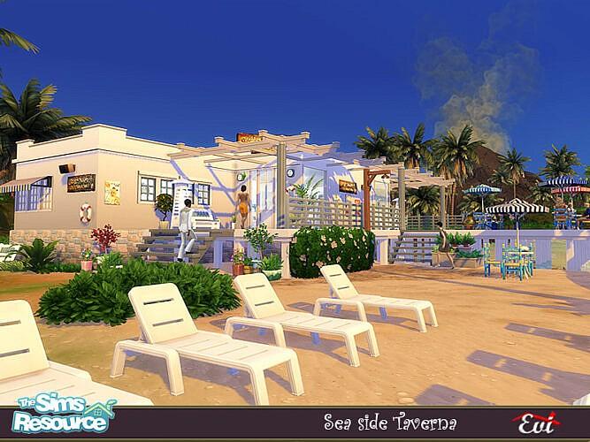 Sea Side Taverna By Evi