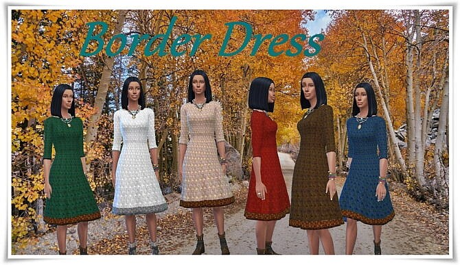 Border Dress