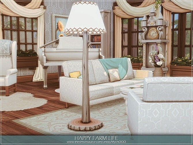 Sims 4 Happy Farm Life by MychQQQ at TSR
