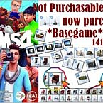 Not Purchasable Objects Now Purchasable * Basegame