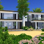 Modern Note House By Suzz86