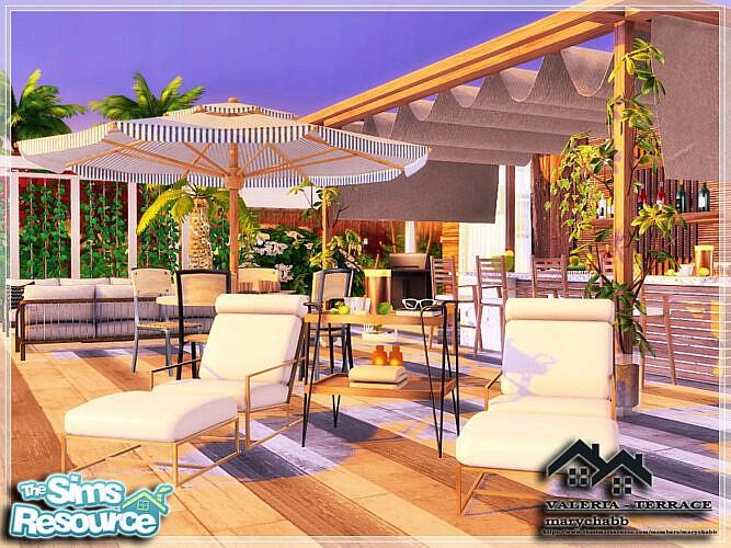 Valeria Terrace By Marychabb
