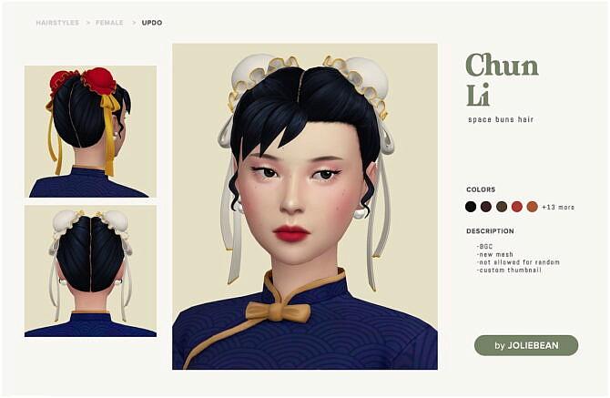 Chun-li Hair