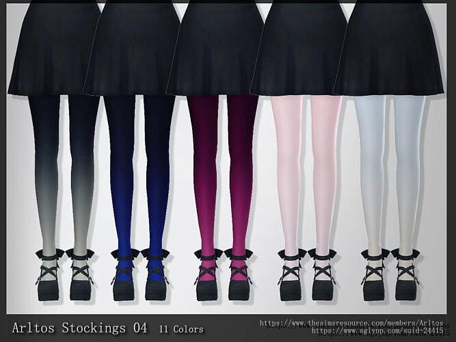 Stockings 04 By Arltos