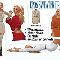 Ep06 Sweater Dress