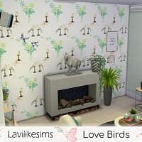 Love Birds Wallpaper By Lavilikesims