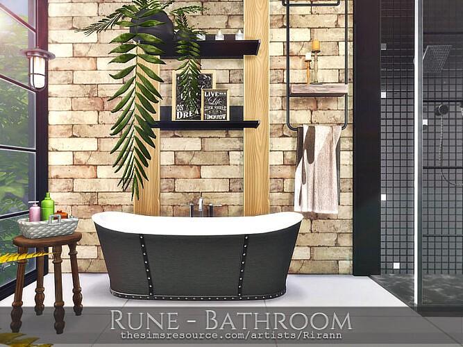 Rune Bathroom By Rirann