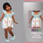 Toddler Dress Aline By Lyllyan