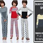 Kids Pajama Top By Sims House
