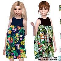Little Tropic Dress By Pinkfizzzzz