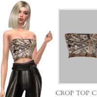 Crop Top C391 By Turksimmer