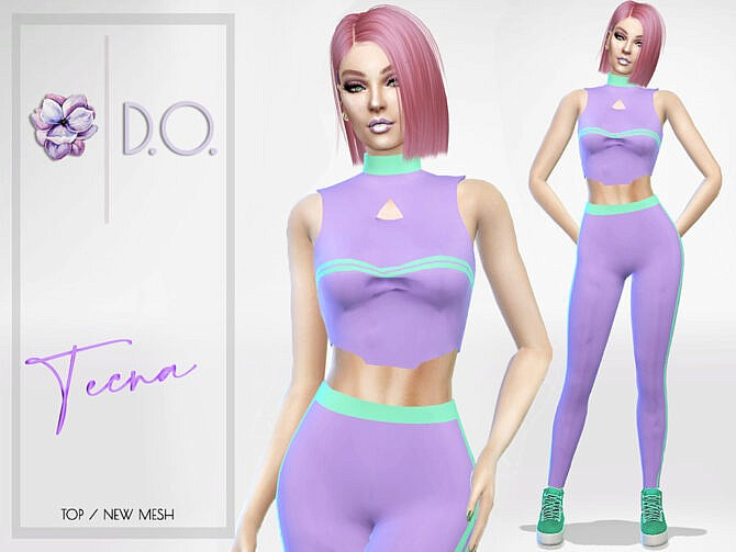 Sims 4 Tecna Top 83 by D.O.Lilac at TSR