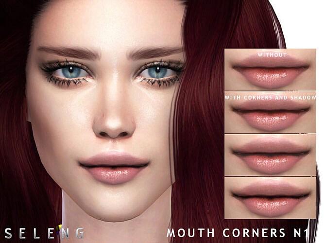 Mouth Corners N1 By Seleng
