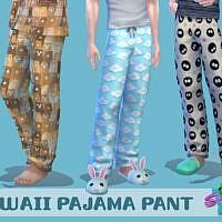 Kawaii Pj Pants By Simmiev