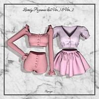Lovely Pajama Set Ver_1 & Ver_2