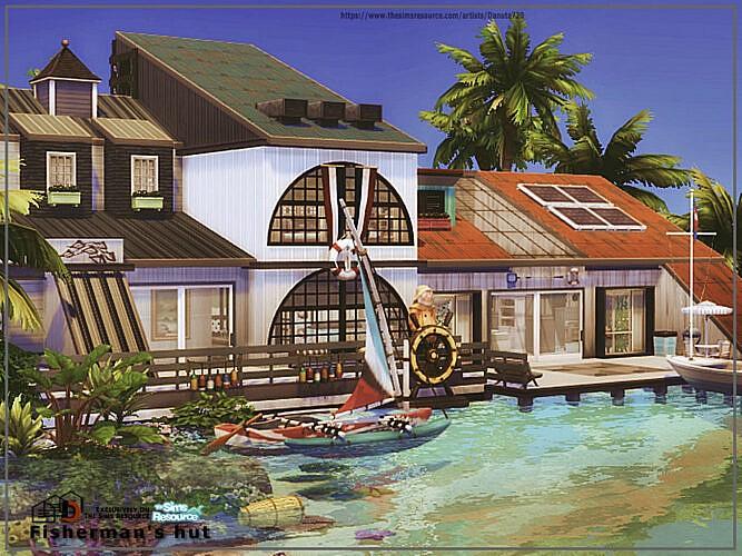 Fisherman's Hut By Danuta720