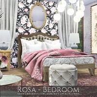 Rosa Bedroom By Rirann