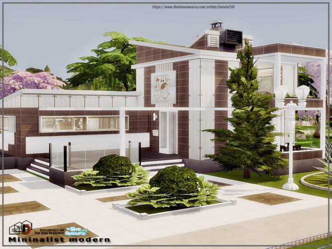 Mininalist Modern House By Danuta720