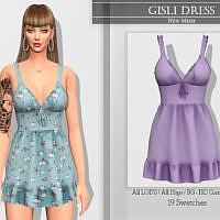 Gisli Dress By Katpurpura