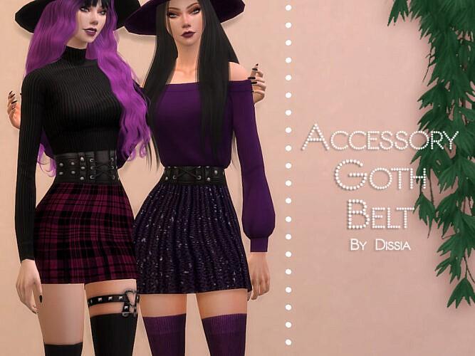 Goth Belt By Dissia