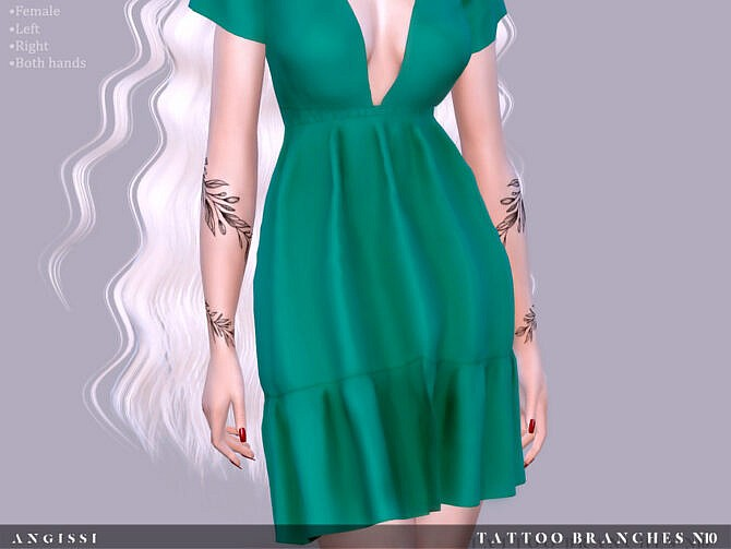 Sims 4 Tattoo Branches n10 by ANGISSI at TSR