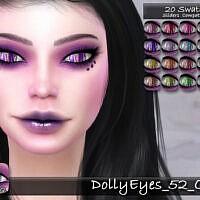 Dolly Eyes 52 Cl By Tatygagg
