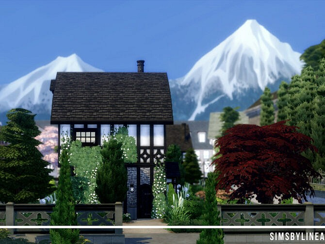 Sims 4 Comfy Cottage by SIMSBYLINEA at TSR