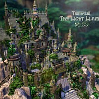 Temple The Light Llama By Virtualfairytales