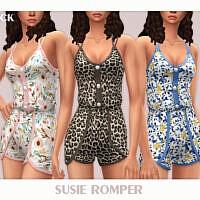 Susie Romper By Black Lily