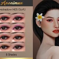 Eyeshadow N05 (soft) By Anonimux Simmer