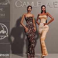 Not Your Bae Dress I By Camuflaje