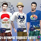 2021 Olympic Tourist Outfit By Simmiev