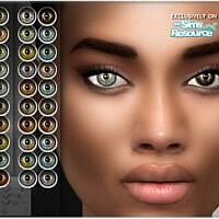 Natural Eye Colors 13 By Bakalia