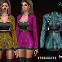 Asvia Dress By Jomsims