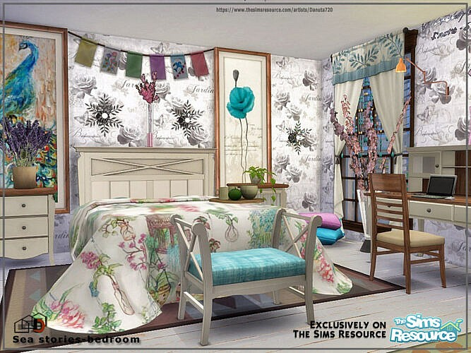 Sea Stories Bedroom By Danuta720