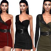 One Shoulder Formal Dress By Saliwa
