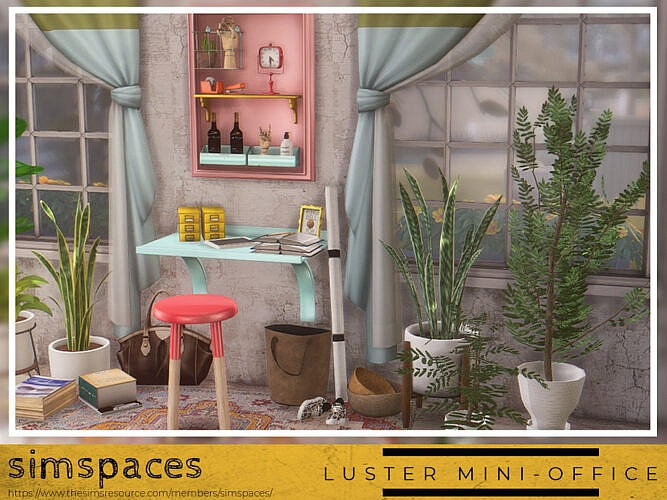 Luster Mini-office By Simspaces