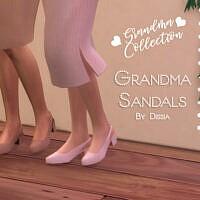 Grandma Sandals By Dissia