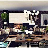 Lara Living Room By Marychabb