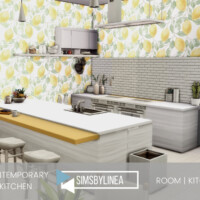 Contemporary Kitchen By Simsbylinea