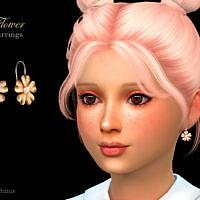 Flower Child Earrings By Suzue