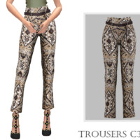 Trousers C390 By Turksimmer