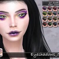 Eyeshadows 50 By Tatygagg
