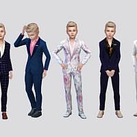 Fancy Boys Suit By Mclaynesims