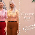 Checked Shirt By Dissia