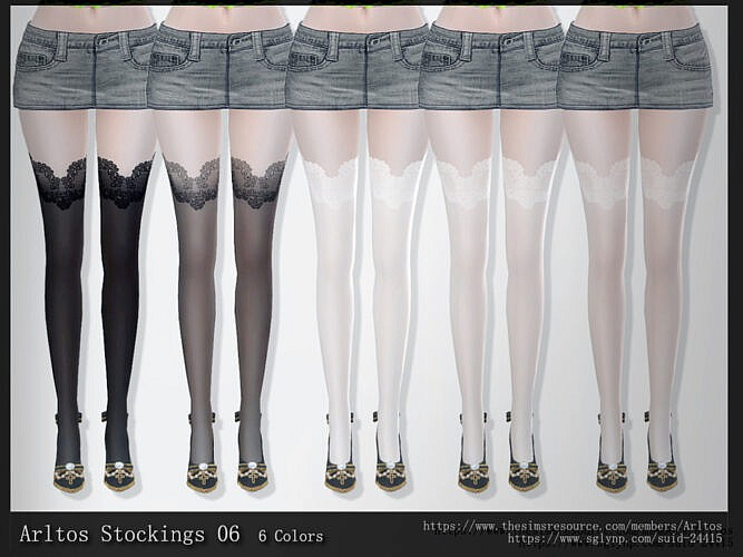 Stockings 06 By Arltos