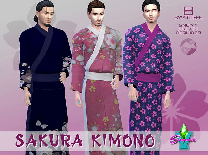 Sakura Kimono By Simmiev