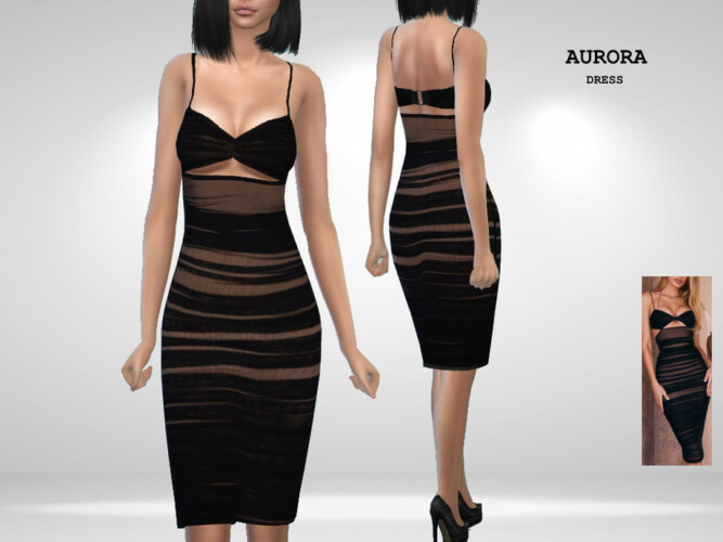 Aurora Dress By Puresim