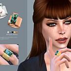 Nyssa Ring By Sugar Owl